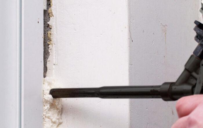 La mousse de polyuréthane à l'avant-garde du secteur de la construction