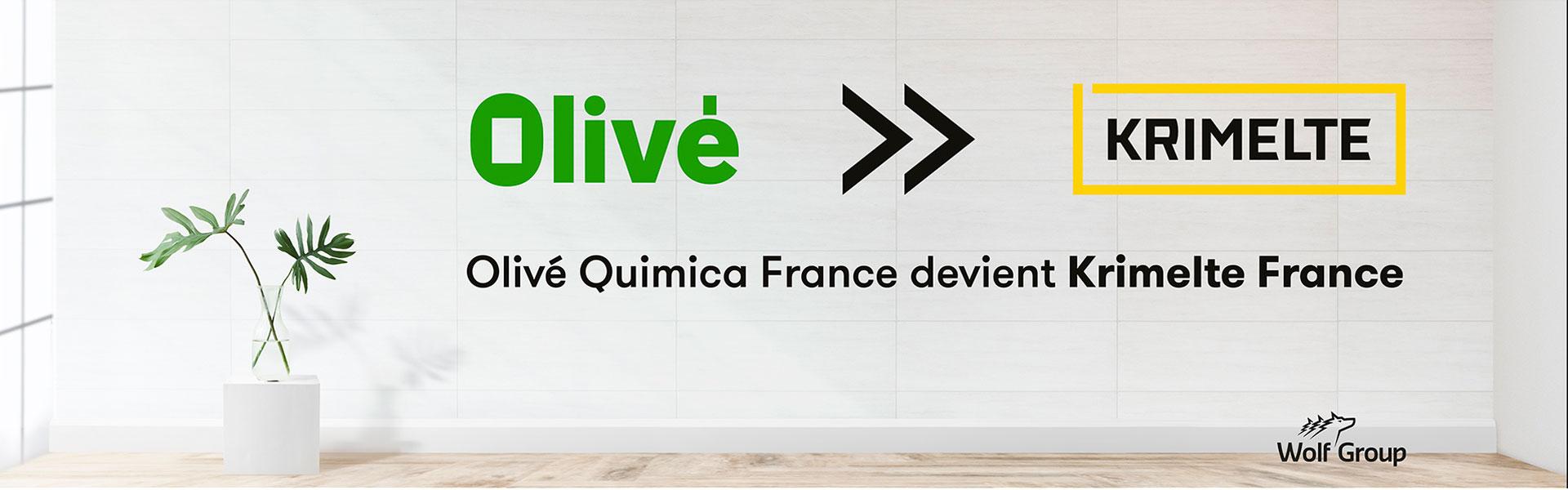 Olivé France devient Krimelte France