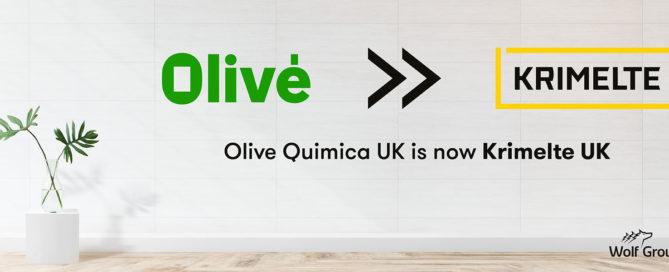 Olive Quimica UK is now Krimelte UK Ltd.