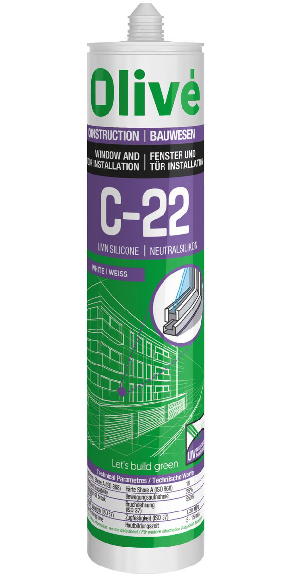C-22 / C-22 c Professional neutral silicone