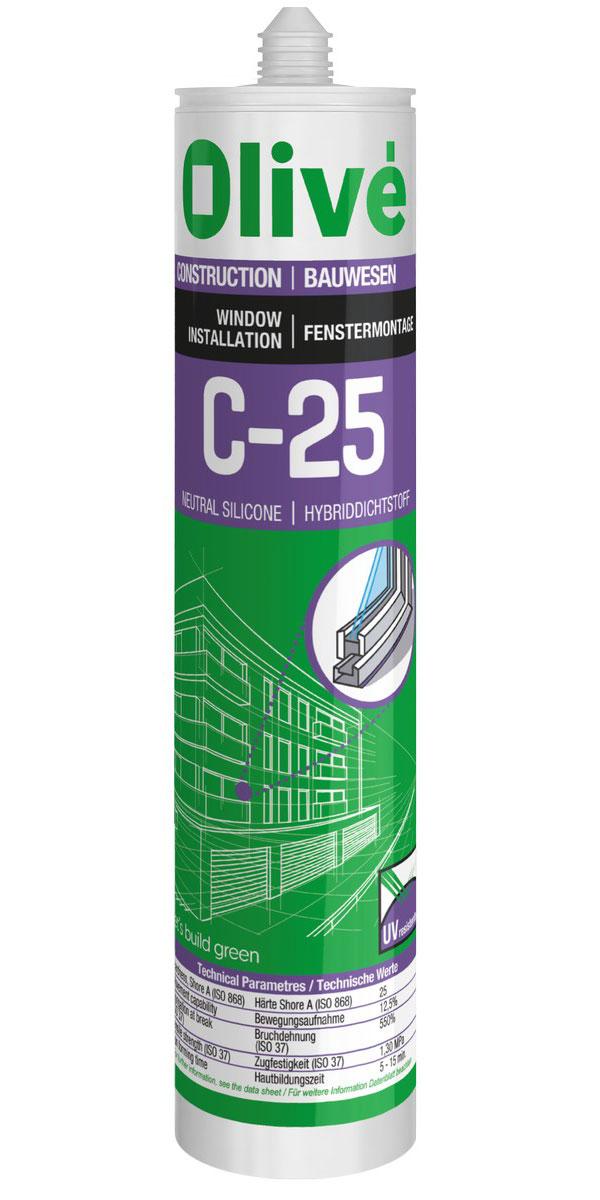 C-25 / C-25 c Neutral silicone