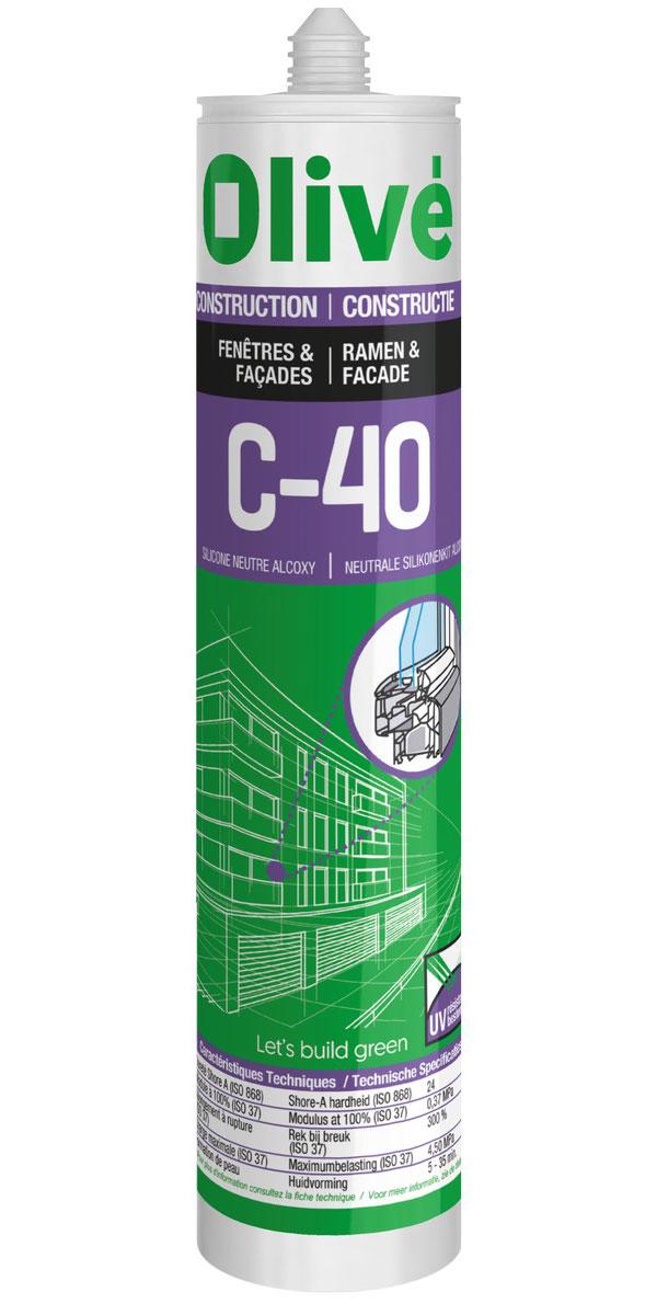 C-40 Silicone neutre alcoxy