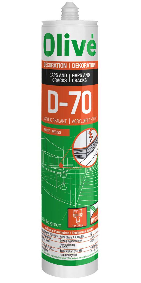 D-70 Mastic acrylique