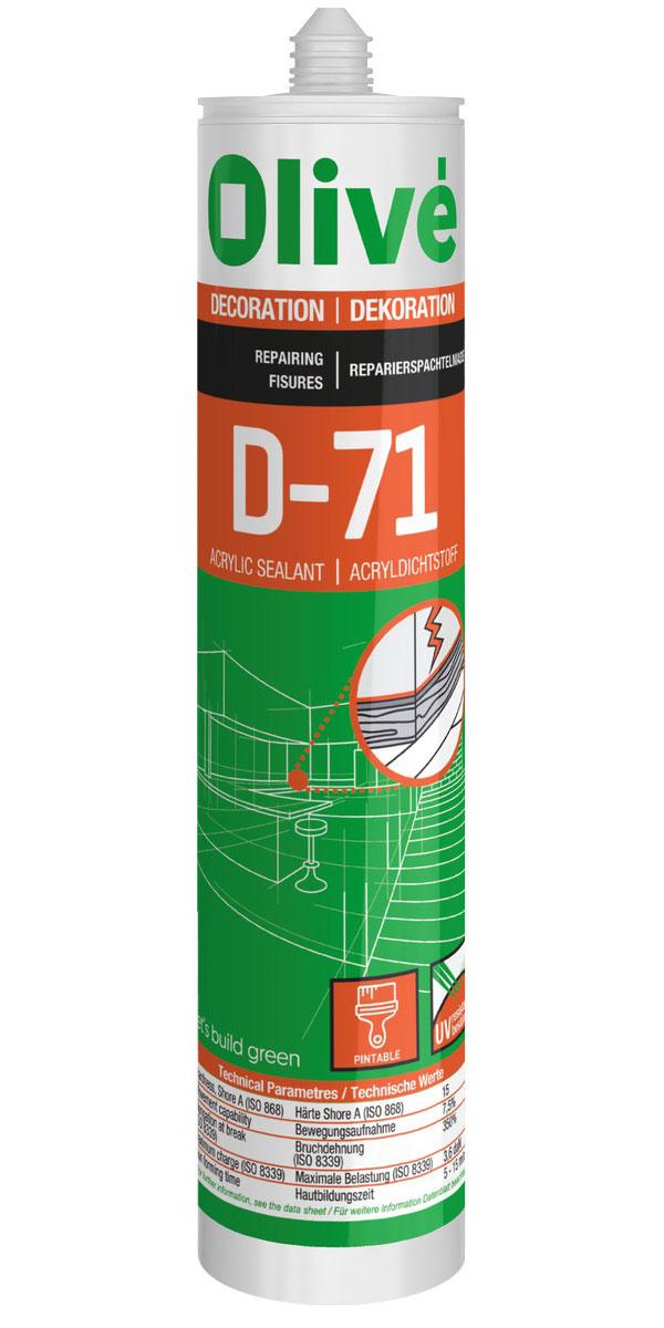 D-71 Mastic acrylique