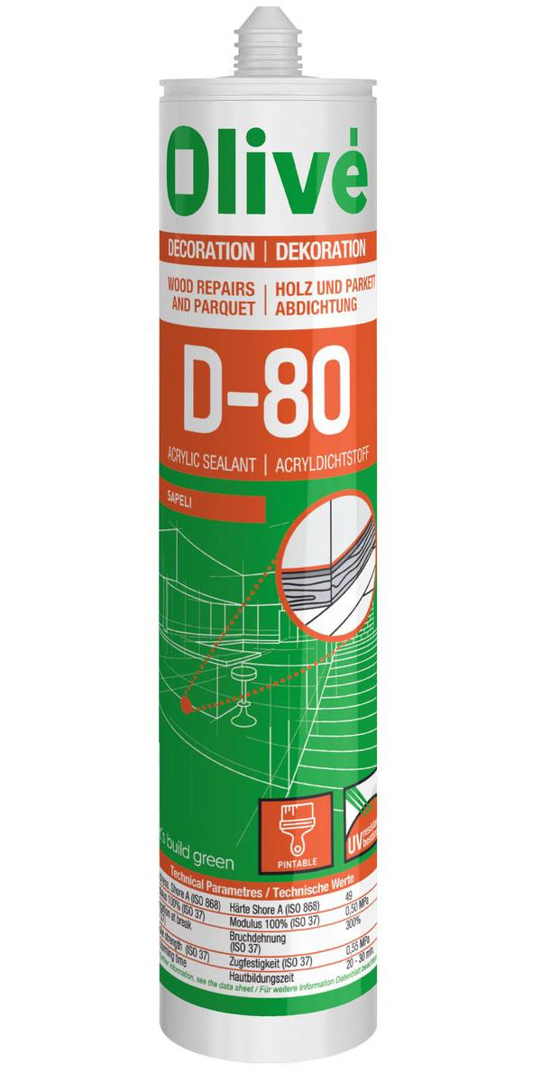 D-80 Scellant acrylique pour bois
