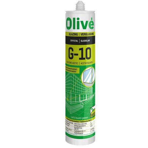 G-10 Silicona acética super transparente