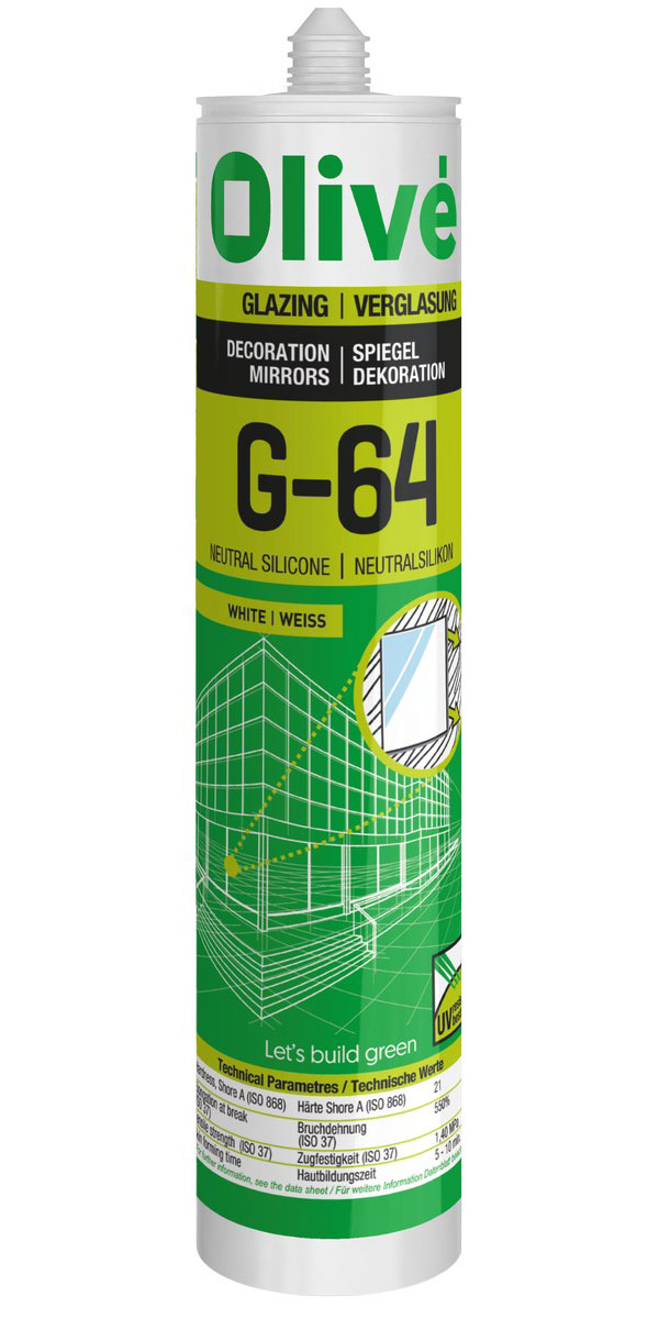 G-64 Neutral silicone. Decoration mirrors