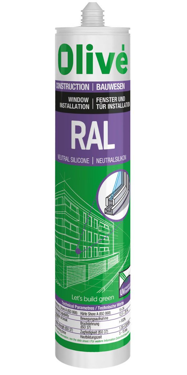 RAL Coloured neutral silicone