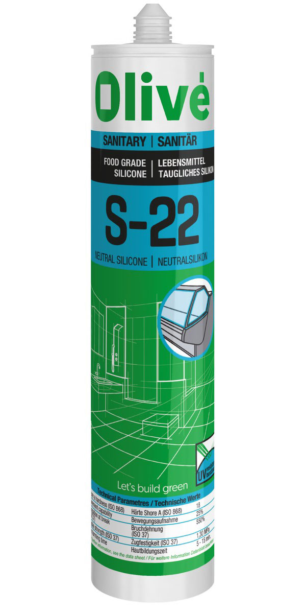S-22 Neutral food-grade silicone