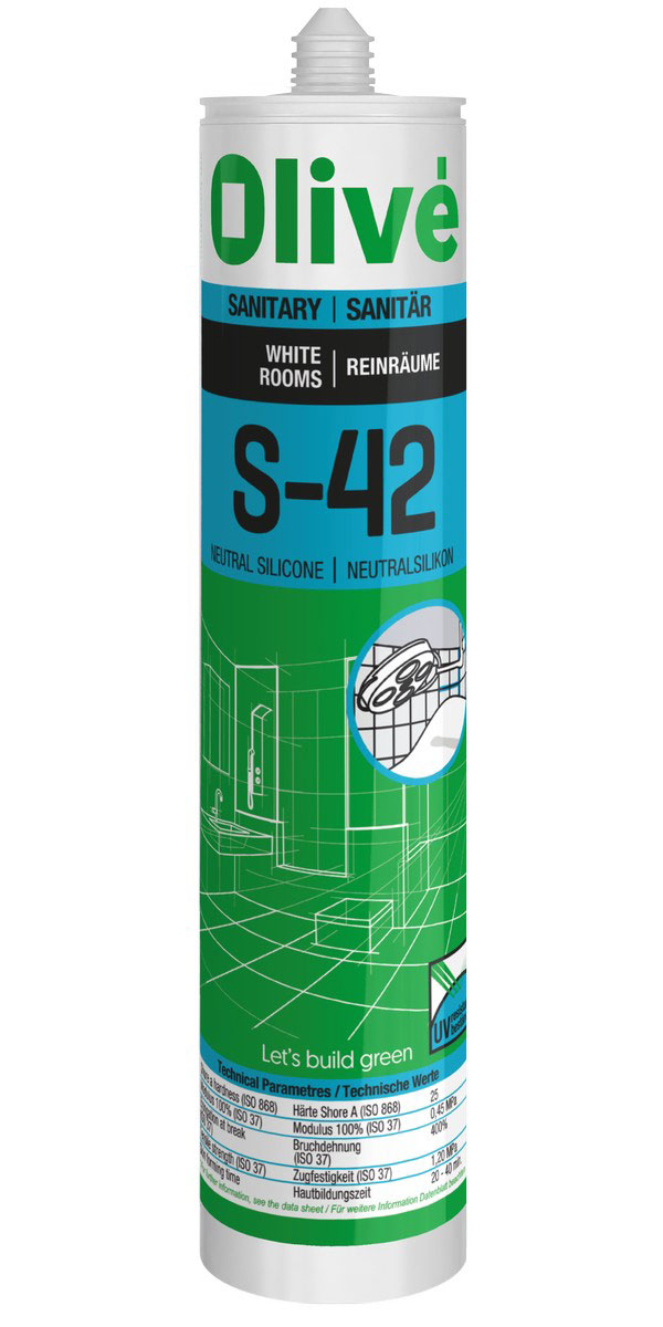S-42 Neutral silicone for cleanrooms