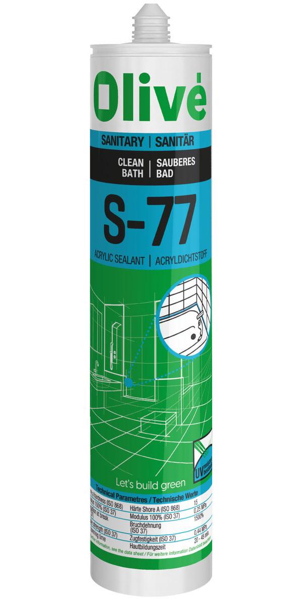 S 77 Mastic Acrylique Pour Baignoires Lavabos Et Wc