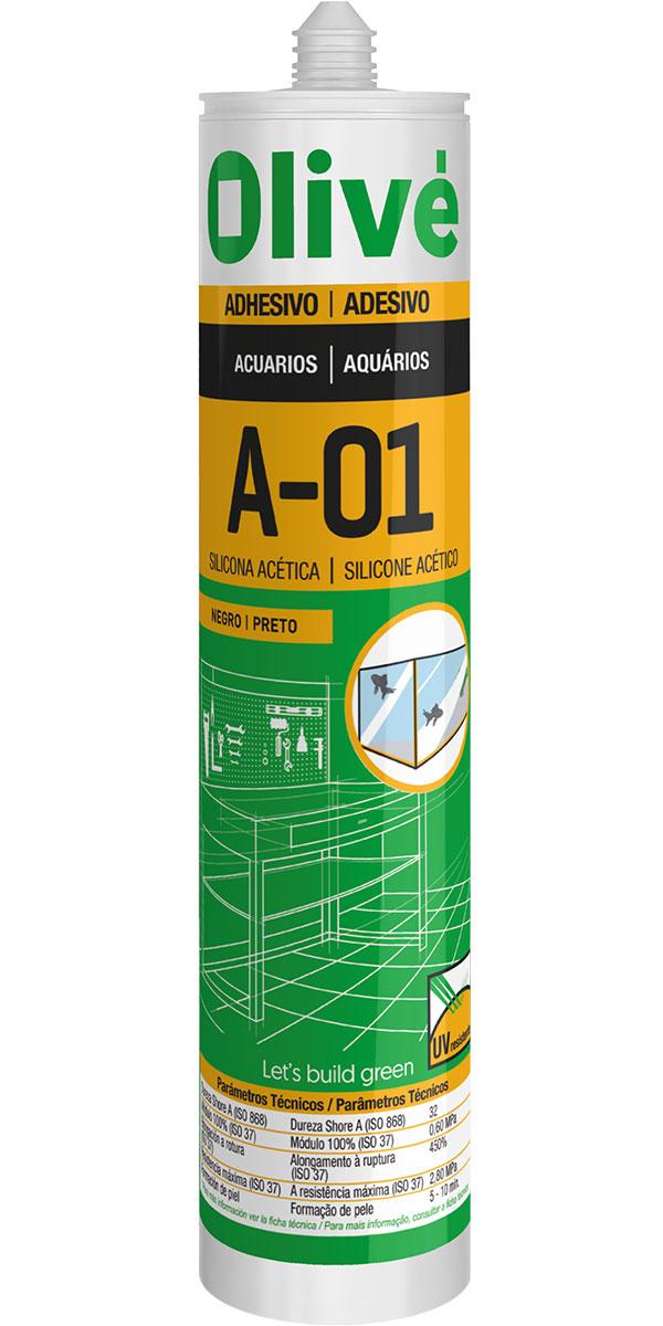 Silicona para acuarios A-01