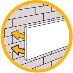 Adhesivo de pegado de paneles