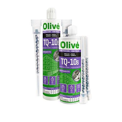 Anclaje químico Olivé TQ10s