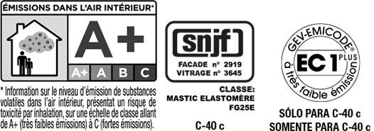 Certificado de calidad de Olivé C-40 c