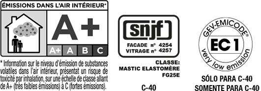 Certificado de calidad de Olivé C-40