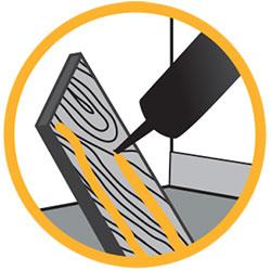 Cola de montaje para materiales de construcción