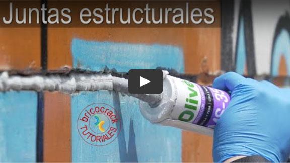 Cómo sellar juntas estructurales de gran tamaño (Bricocrack)