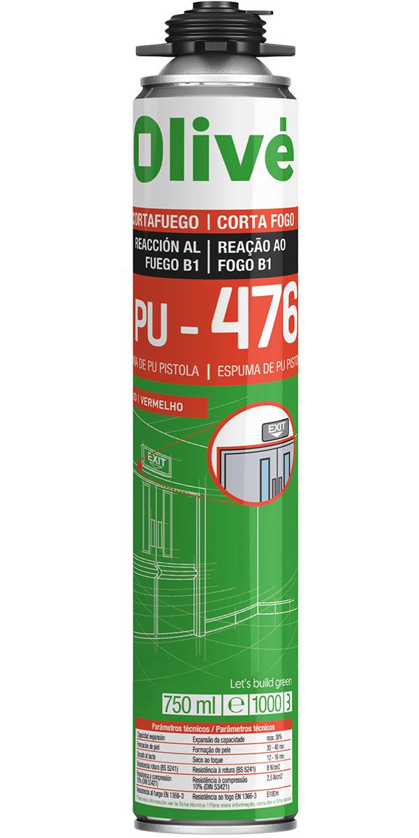 Espuma cortafuegos PU 476