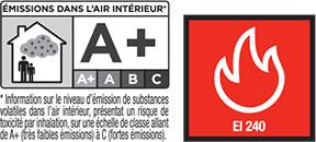 Certificado de calidad del sellante ignífugo HYBRIFOC de Olivé