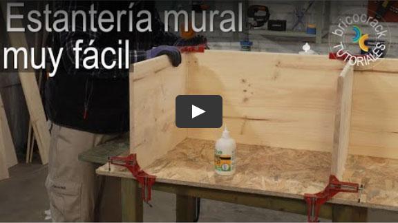 Cómo montar una estantería mural (Bricocrack)