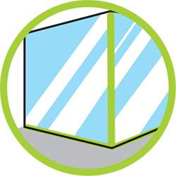 Silicona acética para vidrios molíticos