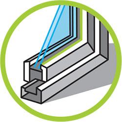 Silicona acética para vidrio y carpintería