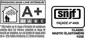 Certificado calidad sellante para juntas