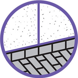 Sellante híbrido juntas en muros y suelo
