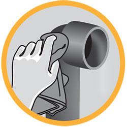 limpiador de PVC