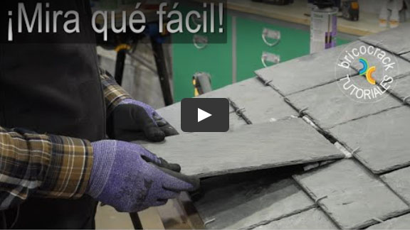 Cómo montar y reparar tejas con espuma (Bricocrack)