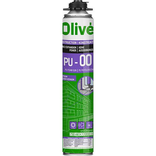 Olive PU-00 Elasitc gun foam