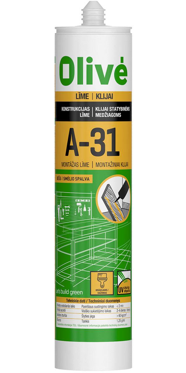 A-31 - Montāžas līme