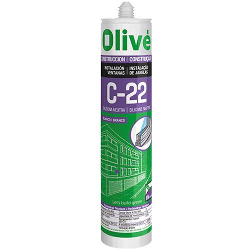 Silicona neutra para ventanas Olivé C-22