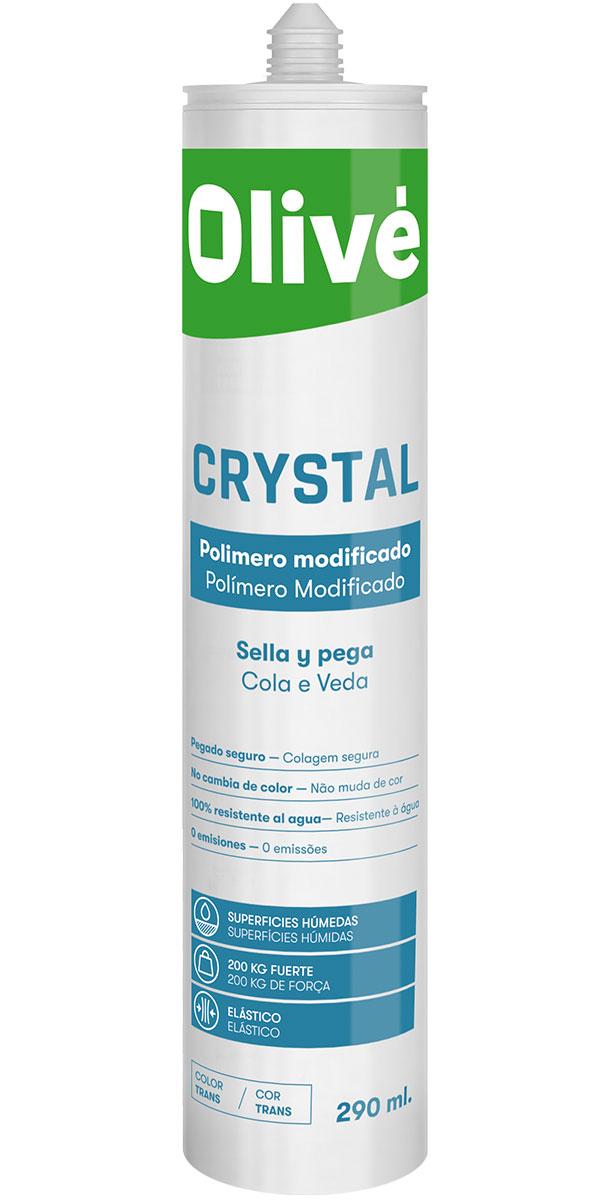 Olivé Crystal - Sella y pega