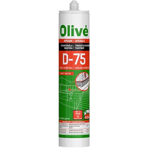 Olivé D-75 Akrila hermētiķis