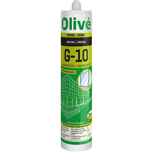 Silicona acética Olivé G-10
