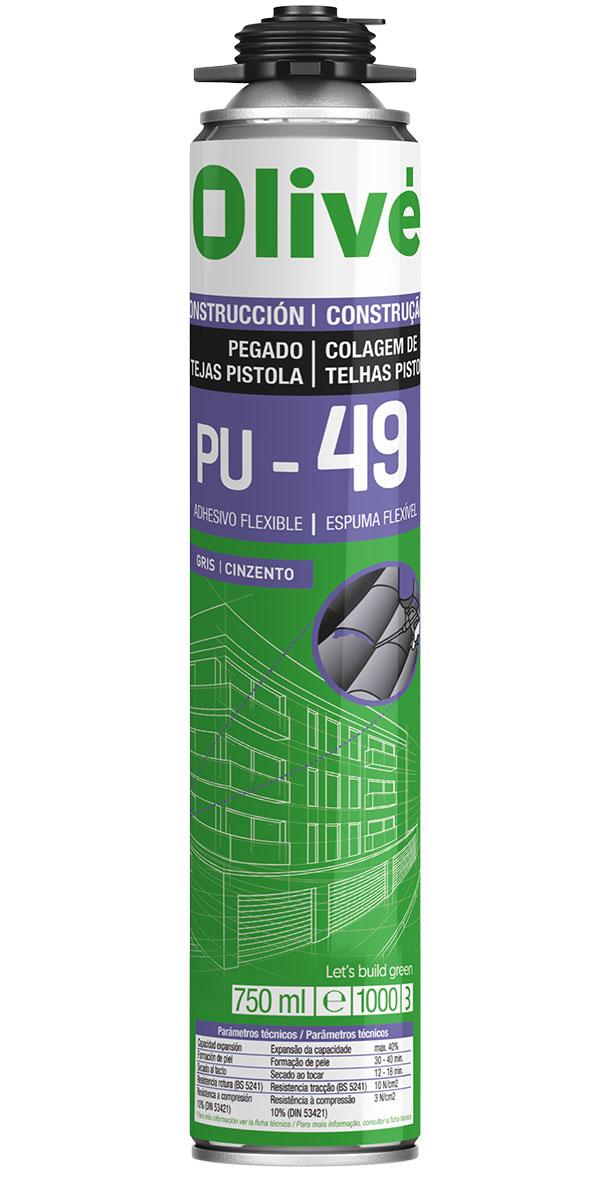 PU-49 PISTOLA Adhesivo flexible