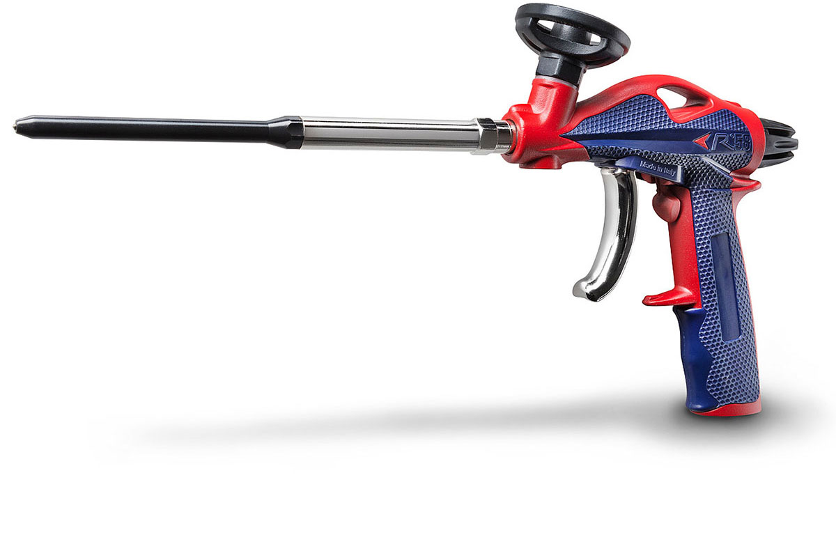 Pistola profesional para la aplicación de espuma de poliuretano