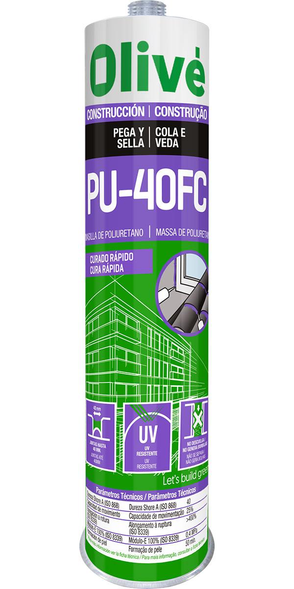 Masilla de poliuretano PU-40FC