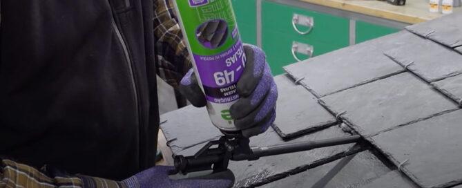 espuma de poliuretano especial para tejas