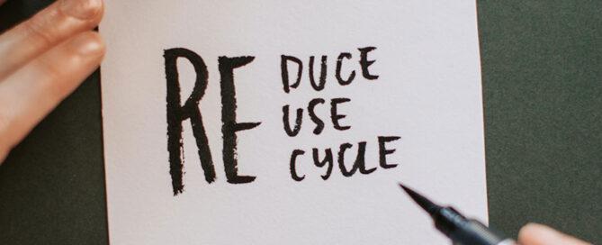 Reducir y reciclar