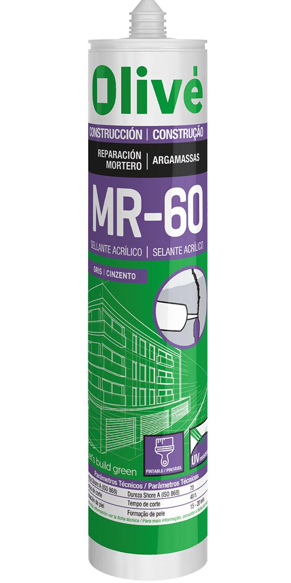 Acrylic sealant for mortar repair