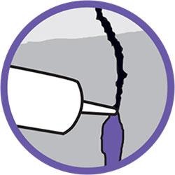 sellante acrílico para reparación de mortero