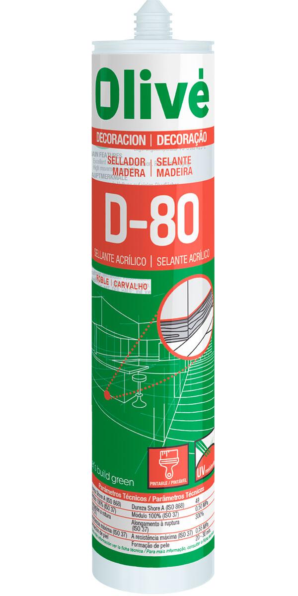 Sellador para madera Olivé D-80