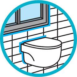 Silicona acética multiuso para baños y lavabos