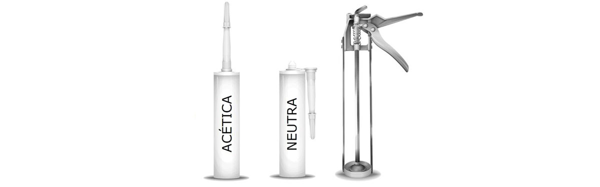 Silicona acética versus neutra