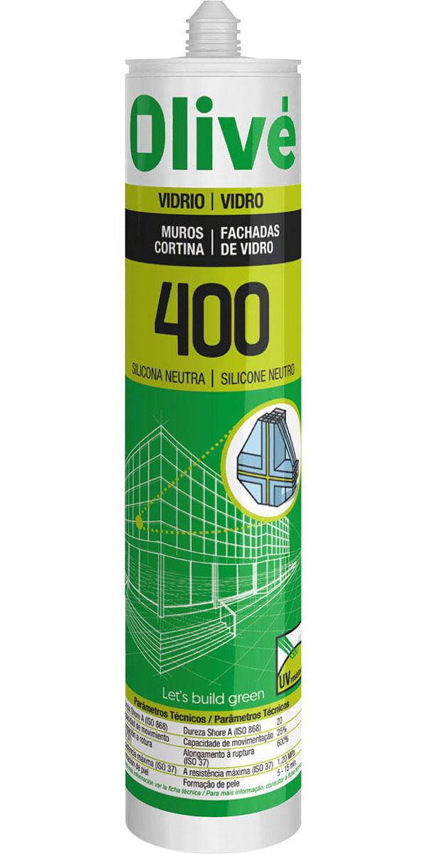 Silicona para muros cortina Olivé 400